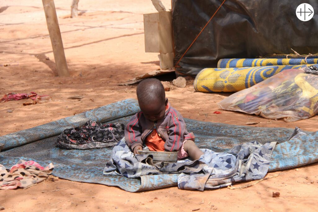 IDPs in Kaya, the region with 50% of almost 1 million of IDPs in Burkina Faso