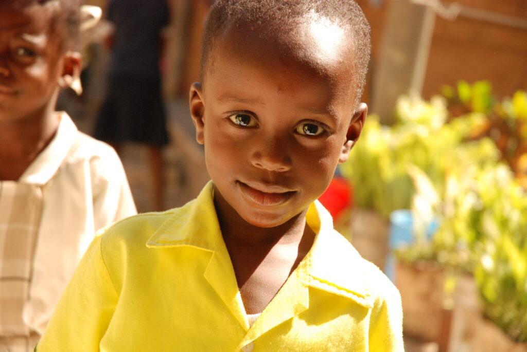 petit garçons haitien